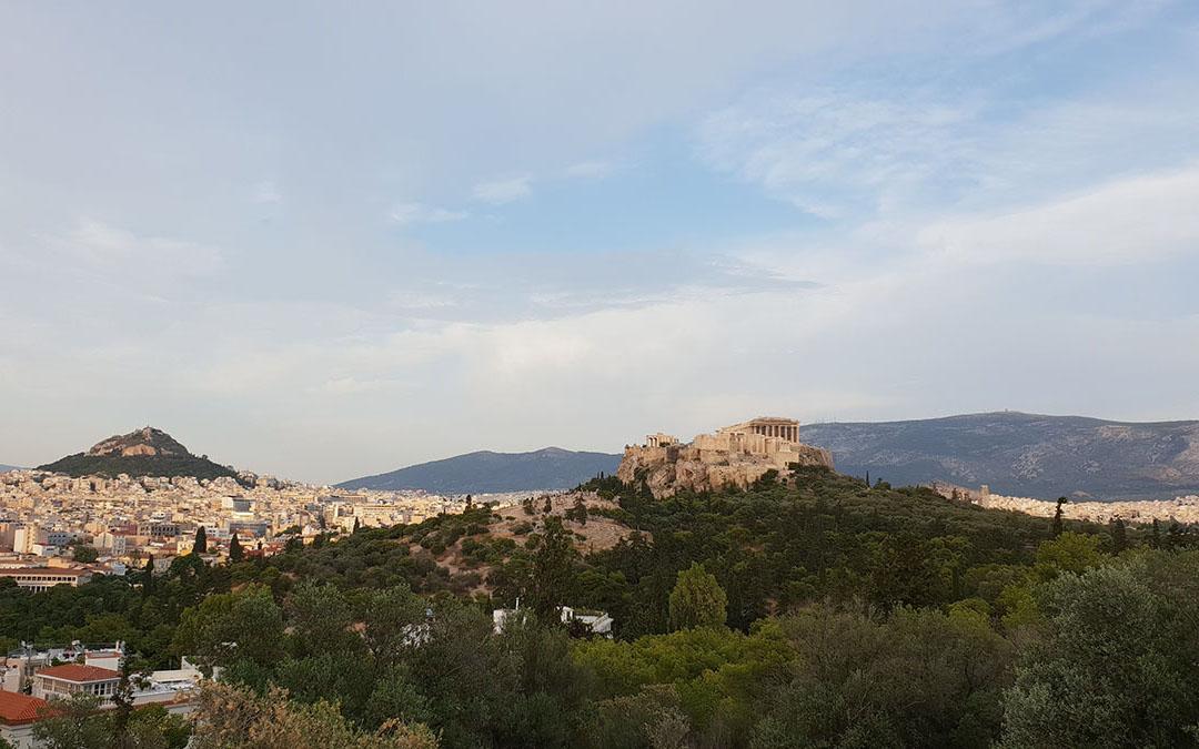 Wizyta w Atenach
